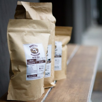 Barefoot Roasters Coffee Bags